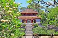 Imperialistisk gravvalv av Minh Mang Hue, Vietnam UNESCOvärldsarv Arkivfoton