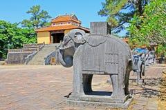 Imperialistisk gravvalv av Minh Mang Hue, Vietnam UNESCOvärldsarv Royaltyfria Foton