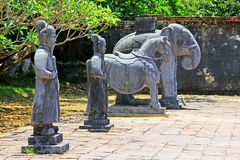 Imperialistisk gravvalv av Minh Mang, Hue Vietnam UNESCOvärldsarv Fotografering för Bildbyråer