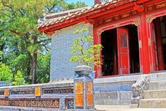 Imperialistisk gravvalv av Minh Mang, Hue Vietnam UNESCOvärldsarv Arkivbild
