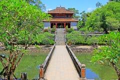 Imperialistisk gravvalv av Minh Mang, Hue Vietnam UNESCOvärldsarv Arkivbilder
