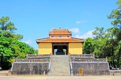 Imperialistisk gravvalv av Minh Mang, Hue Vietnam UNESCOvärldsarv Royaltyfri Foto