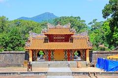 Imperialistisk gravvalv av Minh Mang, Hue Vietnam UNESCOvärldsarv Royaltyfri Bild