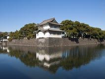 imperialistisk japan slott tokyo Royaltyfri Foto