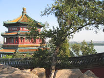 imperialistisk pagodaslottsommar arkivbild