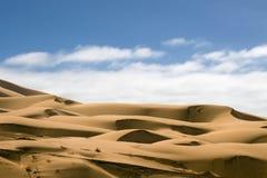imperialistisk sand för Kalifornien dyner Royaltyfri Bild