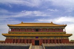 imperialistisk slott royaltyfri bild