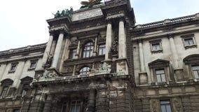 Imperialistisk slott av Hofburg Royaltyfria Foton