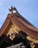 Imperialistisk slott av Kyoto i Japan Arkivbilder