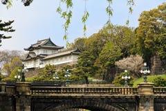 Imperialistisk slott av Tokyo Fotografering för Bildbyråer