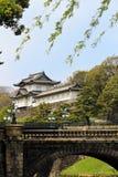 Imperialistisk slott av Tokyo, Japan Royaltyfria Bilder