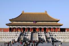 imperialistisk slott för facade Royaltyfri Foto