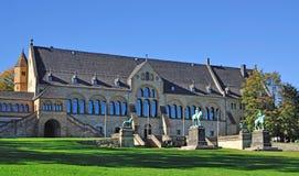 imperialistisk slott för goslar harz Arkivfoton