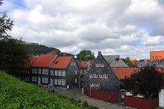 Imperialistisk slott i goslar Royaltyfria Bilder