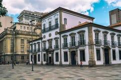 Imperialistisk slott i Rio de Janeiro fotografering för bildbyråer