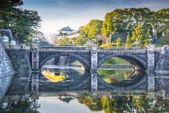 Imperialistisk slott Japan Royaltyfri Bild