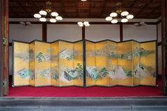 Imperialistisk slott - Kyoto - Japan Fotografering för Bildbyråer
