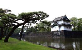 imperialistisk slott tokyo royaltyfri fotografi
