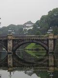 imperialistisk slott tokyo Fotografering för Bildbyråer