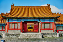 Imperialistisk slottForbidden City Peking Kina Arkivbild