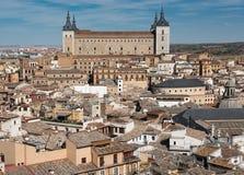 Imperialistisk stad av Toledo spain Arkivbilder