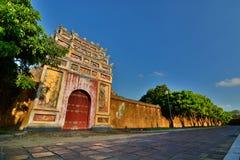 imperialistisk stad Hué vietnam Royaltyfri Fotografi