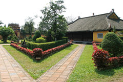 Imperialistisk stad - ton - Vietnam Royaltyfri Fotografi