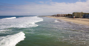 Imperialistisk strand Kalifornien Arkivfoto