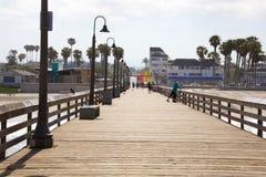 Imperialistisk strand Kalifornien Royaltyfri Bild