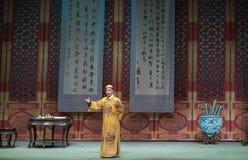 "Imperialistisk Studie-Shanxi Operatic""Fu Shan till Beijing† Royaltyfri Foto"