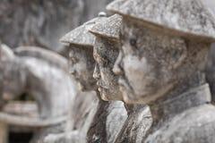 Imperialistiska Khai Dinh Tomb i ton, Vietnam Ett UNESCOvärldsarv royaltyfria foton