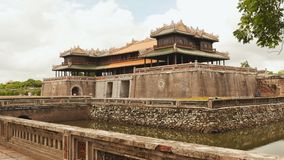 Imperialistiska Royal Palace av Nguyen dynasti i ton, Vietnam royaltyfria foton