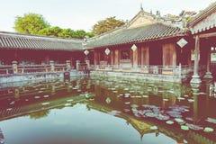 Imperialistiska Royal Palace av Nguyen dynasti i ton, Vietnam UNESCO royaltyfria bilder