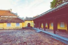 Imperialistiska Royal Palace av Nguyen dynasti i ton, Vietnam UNESCO royaltyfri fotografi
