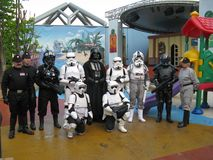 imperialistiska troopers arkivfoton