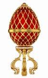 Imperialistiskt Faberge ägg 3d royaltyfria foton
