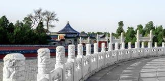 Imperialistiskt valv av himmel i tempel av himmel, Peking, Kina arkivfoto