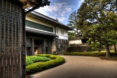 Imperior palace and garden Stock Images