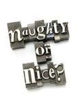 Impertinente o Nizza? Immagini Stock