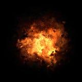Impetuosamente explosão estourada ilustração royalty free