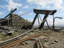 Impianti abbandonati della miniera Fotografia Stock