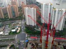 Impianti cinesi della costruzione Immagine Stock