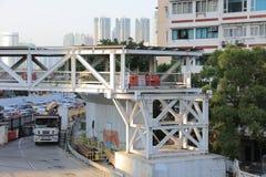 Impianti in costruzione di Hong Kong Fotografie Stock