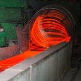 Impianti d'acciaio del cavo di fabbricazione Fotografia Stock Libera da Diritti