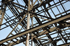 Impianti d'acciaio e di ferro in Voelklingen, Germania Immagine Stock