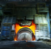 Impianti del ferro di fabbricazione dell'acciaio immagine stock