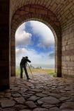 Impianti del fotografo Immagine Stock