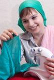 Impianti del Needlewoman Immagini Stock Libere da Diritti