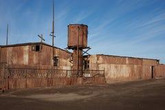 Impianti del salnitro di Humberstone Immagini Stock