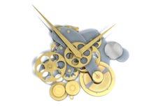 Impianti dell'orologio Fotografia Stock